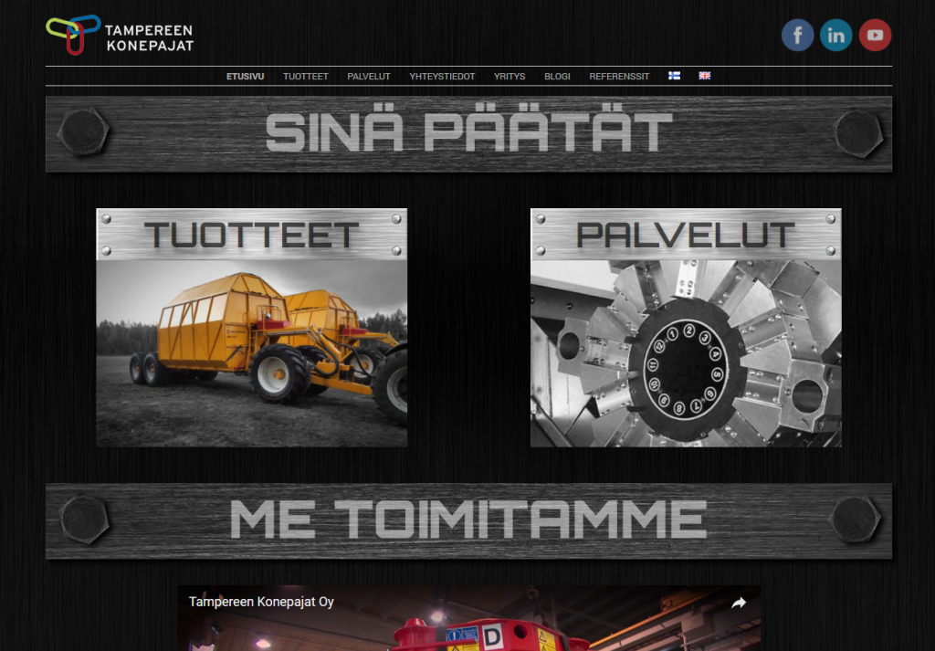 www.tampereenkonepajat.com